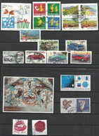 SUEDE 2009 25 Timbres + 1 BF Oblitérés SWEDEN - Used Stamps