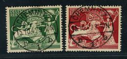 Deutsches Reich Michel Nummer 816+817 Gestempelt - Gebraucht