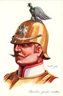 Armée Russe, Chevalier-Garde. Dessin D'Emile Dupuis - Regimientos