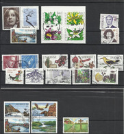 SUEDE 2005 23 Timbres + 1 BF Oblitérés SWEDEN - Used Stamps