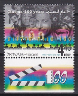 Israel 1995 - Mi.Nr. 1354 - Postfrisch MNH - Kino Cinema - Unused Stamps (with Tabs)