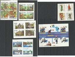 SUEDE 2003 Et 2004  23 Timbres NEUF SANS CHARNIERE MNH SWEDEN - Unused Stamps