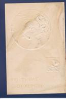 CPA Kirchner Raphael Art Nouveau Femme Woman Non Circulé Gaufré Embossed Voir Dos - Kirchner, Raphael