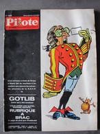 Pilote N° 536 - Gotlib - Plateformes Cosmiques - Pionniers De La RATP - Lucky Luke... - Pilote