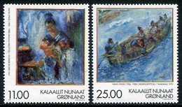 GREENLAND 1998 Paintings By Hans Lynge MNH / **.  Michel 325-26 - Ungebraucht