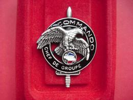 Brevet  COMMANDO    CHEF DE GROUPE   ( DELSART ) - Army