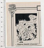 2 Vues Humour Presse Art Préhistorique (Grotte De) Lascaux Artiste-Peintre ??  + Papa Poule Hygiène Enfant 198PF54 - Non Classificati