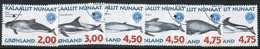 GREENLAND 1998 Whales III Used.  Michel 316y-21y - Gebraucht