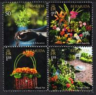 Bermuda - 2021 -  Garden Club Of Bermuda Centenary - Mint Stamp Set - Bermudes