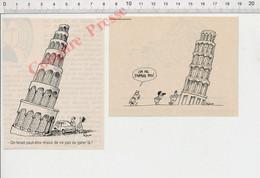 Humour Touristes Tour De Pise Italie Métier Guide Touristique 198PF54 - Non Classificati