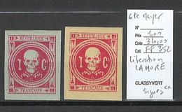 France - Libération LA MURE - DEPART 1 EURO - SIGNES - SANS CHARNIERE - Liberazione