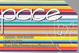 CARTE -ITALIE-Serie Pubblishe Figurate-Catalogue Golden-5€/31/12/2010-PACE-120000Ex-Utilisé-TBE-RARE - Pubbliche Precursori