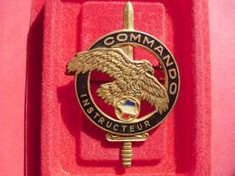 Brevet  COMMANDO    INSTRUCTEUR   ( DRAGO - Army