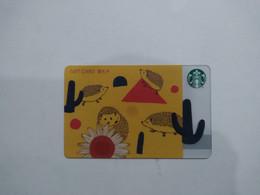 China Gift Cards, Starbucks, 500 RMB, 2021 (1pcs) - Gift Cards