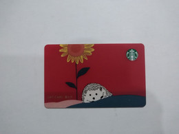 China Gift Cards, Starbucks, 200 RMB, 2021 (1pcs) - Gift Cards