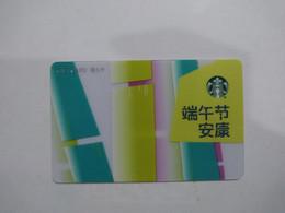 China Gift Cards, Starbucks, 1000 RMB, 2021 (1pcs) - Gift Cards