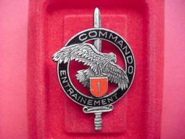 Brevet  COMMANDO   ENTRAINEMENT N° 1  ( ANDOR ) - Army
