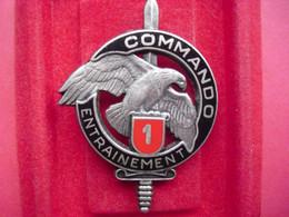 Brevet  COMMANDO    ENTRAINEMENT N° 1   ( DRAGO ) - Army