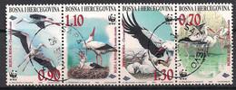 Bosnien-Herzegowina  (1998)  Mi.Nr.  132 - 135  Gest. / Used  (4bl-02.07) - Bosnien-Herzegowina