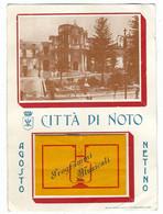 10.254 - NOTO CITTA' DI NOTO SIRACUSA AGOSTO NETINO 1957 - Other Cities