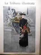 La Tribuna Illustrata 4 Maggio 1890 Altipiano In Abissinia Capannelle Flaminia - Before 1900