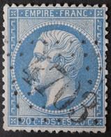22 Obl BUREAU SUPPLEMENTAIRE GC 4703 Louveciennes (72 Seine & Oise ) Ind 8 - 1849-1876: Klassieke Periode