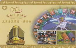 MACAO KEY HOTEL   Casa Real Hotel Casino - Hotel Keycards