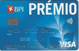 PORTUGAL - PRÉMIO - BPI - VISA - Carte Di Credito (scadenza Min. 10 Anni)
