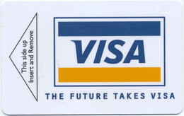 STATI UNITI KEY HOTEL   Radisson SAS . The Future Takes VISA - Hotel Keycards