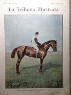 La Tribuna Illustrata 11 Maggio 1890 Feste Di Maggio Croce Rossa Farnesina Roma - Before 1900