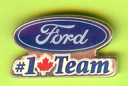 Pin's Automobile Ford #1 (Canadian) Team - 1X26 - Ford
