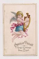 CHROMO GAUFFRE  CHOCOLAT POULAIN - PETIT ANGELOT ET CYTHARE  - - Poulain