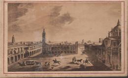 1865 México. Veracruz. Tarjeta De Visita Fotografo Agustin Peraire  6 X 10 Cm - Plaatsen