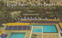 STATI UNITI KEY HOTEL   Royal Palm South Beach Miami - Hotel Keycards