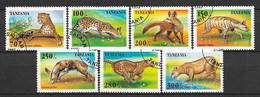 Tanzanie N° 1913/19 Yvert  OBLITERE - Tanzania (1964-...)