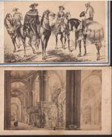 1865 México.Tarjeta De Visita.fotos De Grabados. Fotografo Agustin Peraire  6 X 10 Cm - Plaatsen