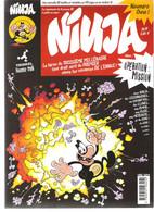 Magazine De BD Bande Dessinée NINJA N°1 Opération Mission Philippe Larbier 2001 - Autre Magazines