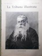 La Tribuna Illustrata 25 Maggio 1890 Feste Di Maggio Meissonnier Regate Caprivi - Before 1900