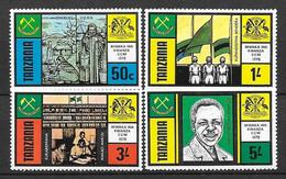 Tanzanie N° 89/92 Yvert  NEUF SANS GOMME - Tanzania (1964-...)
