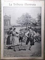 La Tribuna Illustrata 1 Giugno 1890 Feste Maggio Gandolfi Confini Africa Firenze - Before 1900