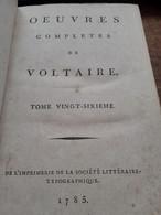 Histoire Du Parlement De PARIS VOLTAIRE Société Littéraire-typographique 1785 - Altri