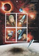 (SS087) NORTH KOREA, 2001 (Space Exploration). Souvenir Sheet. Mi ## 4501-4504 (Block 505). MNH** - Korea, North