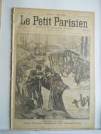 LE PETIT PARISIEN N°419 - 14 FEVRIER 1897 - INONDATION LOUVIGNY CALECHE CHEVAL - MARDI GRAS MASQUE - 1850 - 1899
