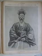 Train Renard Cours La Reine Cours La Reine Huan Chi Kai Chinois 1904 Guerre Russo Japonaise Corée Empereur Séoul - 1900 - 1949