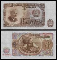 BULGARIA 50 LEVA 1951 P#85 AUNC (NT#06) - Bulgaria