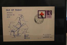 Isle Of Pabay; EUROPA 1963, Block, Großes Format, FDC; Lesen - Europäischer Gedanke