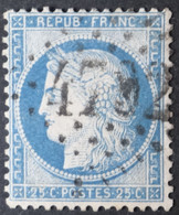 60C Obl BUREAU SUPPLEMENTAIRE GC 4792 Latour-de-France (65 Pyrénées Orientales ) Ind 15 - 1849-1876: Klassieke Periode