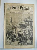 LE PETIT PARISIEN N°421 - 28 FEVRIER 1897 - CHAR DU BOEUF GRAS - CRETE ABDUL-HAMID - 1850 - 1899