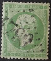 20a (cote 20 €) Obl BUREAU SUPPLEMENTAIRE GC 4799 St-Vincent-de-Reins (68 Rhone ) Ind 15 - 1849-1876: Klassieke Periode