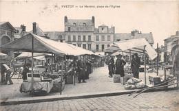 YVETOT - Le Marché, Place De L'Eglise - Yvetot